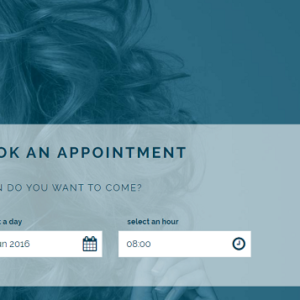 Create a website for the salon